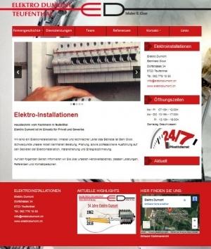 Elektro Dumont, Elektro Installationen, Teufenthal